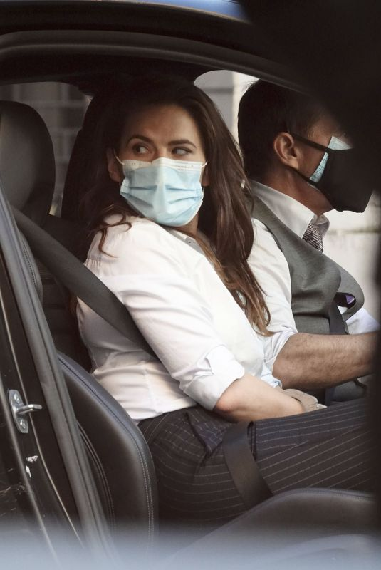 HAYLEY ATWELL and Tom Cruise on the Set of Mission Impossible 7 in Rome 11/26/2020