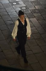 HAYLEY ATWELL on the Set of Mission Impossible 7 in Rome 11/16/2020