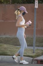 HAYLEY ROBERTS in Tights Out and About in Calabasas 11/03/2020