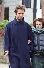 HELENA BONHAM CARTER and Rye Dag Holmboe Out in London 11/15/2020