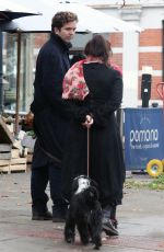 HELENA BONHAM CARTER and Rye Dag Holmboe Out in London 11/25/2020