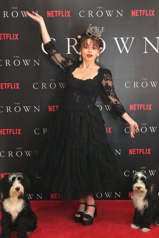 HELENA BONHAM CARTER at The Crown, Season 4 Virtual Premiere 11/12/2020