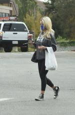 HOLLY MADISON Out Shopping in Los Angeles 11/22/2020