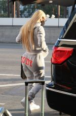 IGGY AZALEA at Los Angeles International Airport 11/25/2020