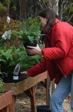 IMOGEN THOMAS Buying Plants at a Garden Centre in London 11/17/2020