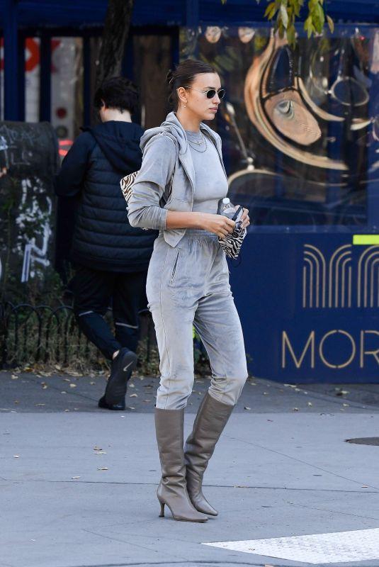 IRINA SHAYK Out in New York 11/19/2020