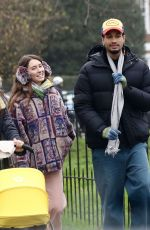 IRIS LAW and Jyrrel Roberts Out in London 11/28/2020