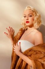 JACKIE R. JACOBSON as Marilyn Monroe - Instagram Videos and Photos 10/31/2020