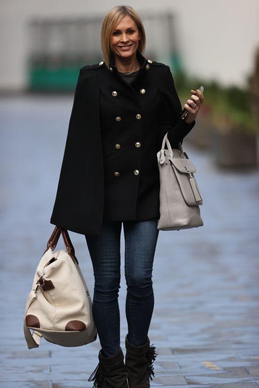JENNI FALCONER Leaves Global Radio Studios in London 11/26/2020