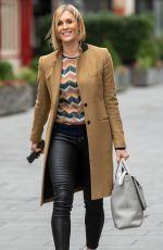 JENNI FALCONER Leaves Global Studios in London 11/24/2020