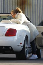 JENNIFER LOPEZ and  Alex Rodriguez Arrives at a Studio in Los Angeles 11/18/2020