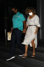 JENNIFER LOPEZ and Alex Rodriguez Out for Dinner at Soho House in Beverly Hills 11/01/2020