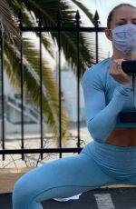 JENNIFER MORRISON - Workout Instagram Photos 10/28/2020