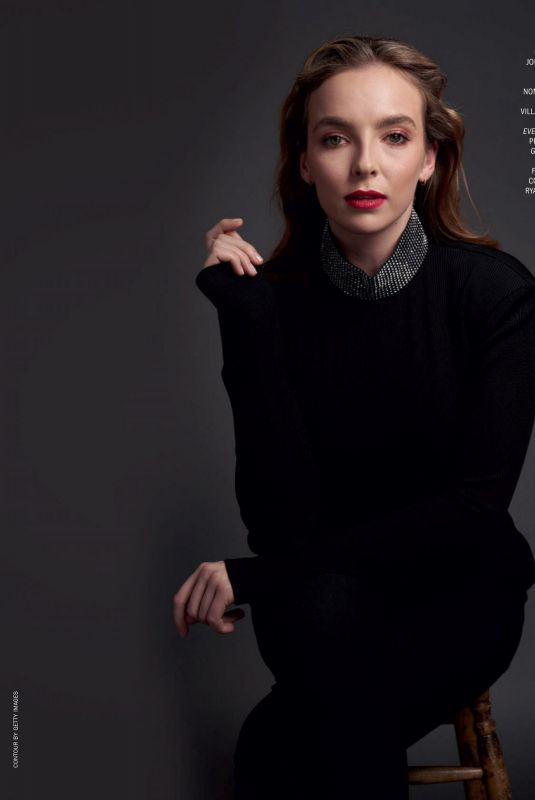 JODIE COMER in Marie Claire Magazine, Italy December 2020