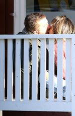 JORDANA BREWSTER and Andrew Form Out Kissing in Los Angeles 11/27/2020