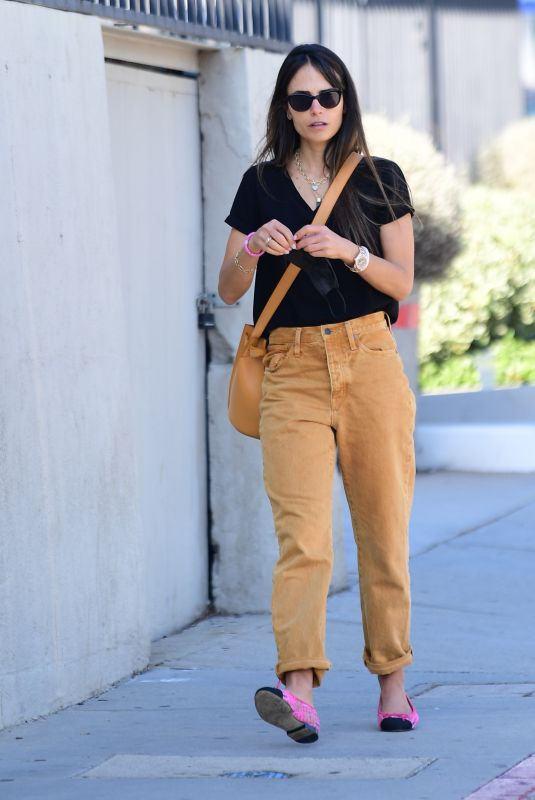 JORDANA BREWSTER Heading to a Hair Salon in Brentwood 11/22/2020