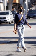 JORDANA BREWSTER Out and About in Santa Monica 11/04/2020