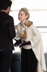 JULIA GARNER on the Set of Inventing Anna in New York 11/16/2020