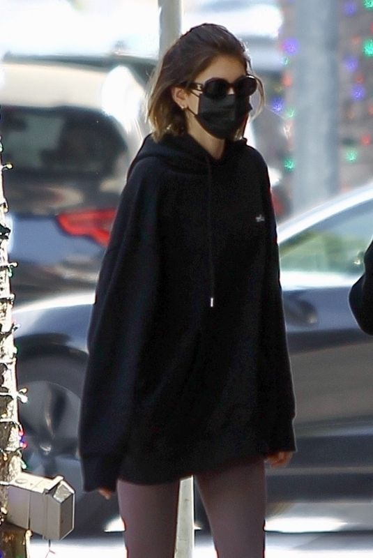 KAIA GERBER Out in Beverly Hills 11/21/2020