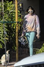 KAIA GERBER Out with Her Dog in Santa Monica 11/20/2020