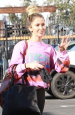 KAITLYN BRISTOWE Arrives at DWTS Studio in Los Angeles 11/17/2020