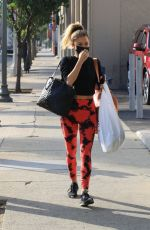 KAITLYN BRISTOWE Heading to DWTS Practice in Los Angeles 11/06/2020