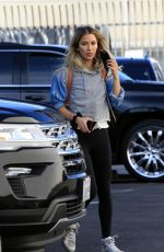 KAITLYN BRISTOWE Heading to DWTS Studio in Los Angeles 11/11/2020