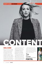 KALEY CUOCO in Foxtel Magazine, December 2020