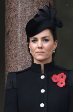 KATE MIDDLETON at Remembrance Sunday Service at Cenotaph in London 11/08/2020