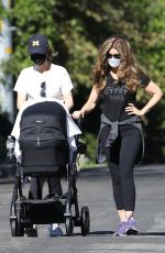 KATHERINE SCHWARZENEGGER and MARIA SHRIVER Out in Brentwood 11/15/2020