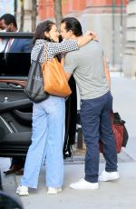 KATIE HOLMES and Emilio Vitolo Jr Out Kissing in New York 11/27/2020