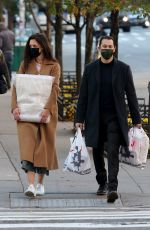 KATIE HOLMES and Emilio Vitolo Jr Out Shopping in New York 11/16/2020