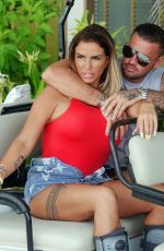 KATIE PRICE and Carl Woods on Holiday in Maldives 11/05/2020