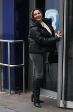 KELLY BROOK at Heart Radio in London 11/25/2020