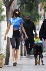 KENDALL JENNER and HAILEY BIEBER Out for Lunch at Zinque Cafe in West Hollywood 11/05/2020
