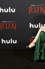 KIERA ALLEN at Run Drive-In Premiere in Los Angeles 11/16/2020