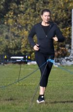 KIRSTY GALLACHER Workout in Richmond 11/13/2020