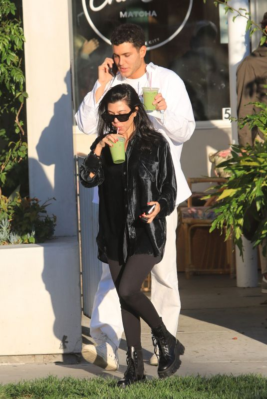KOURTNEY KARDASHIAN and Fai Khadra Out in Los Angeles 11/12/2020
