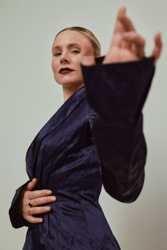 KRISTEN BELL for Romper by Emman Montalvan, November 2020