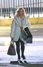 KRISTINA RIHANOFF Leaves Elstree Studios 11/24/2020