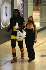 LARSA PIPPEN Out at a Mall in Miami 11/23/2020