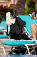 LAURYN GOODMAN in Bikini at a Pool in Dubai 11/26/2020