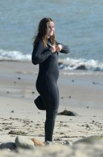LEIGHTON MEESTER in Wetsuit Surfing in Malibu 11/20/2020