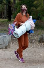 LEIGHTON MEESTER Out at a Park in Los Angeles 11/23/2020