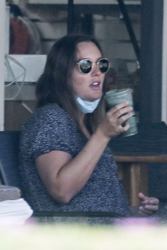 LEIGHTON MEESTER Out for Juice in Malibu 11/06/2020