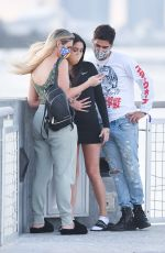 LELE PONS and MARIAH ANGELIQ Out in Miami Beach 11/27/2020