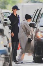 LILY ALLEN and David Harbour Out in New York 11/03/2020