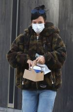 LILY ALLEN Leaves a Bakery Shop in New York 11/02/2020