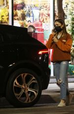 LILY COLLINS at a Pet Supply Store in West Hollywood 11/28/2020
