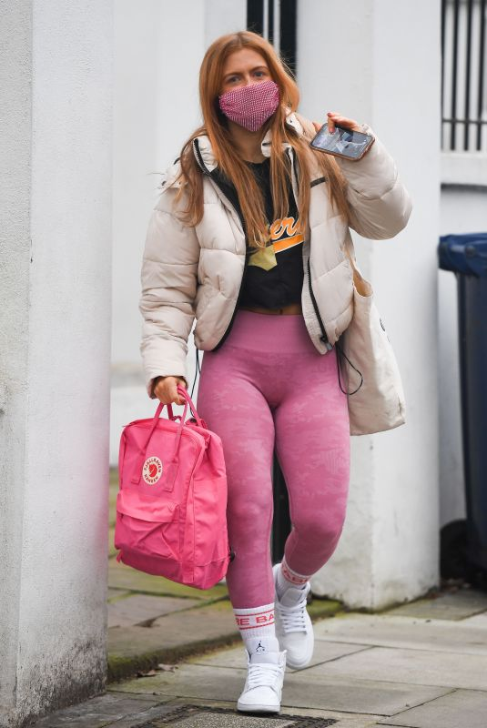 MAISIE SMITH Arrives at Strictly Come Dancing Practice in London 11/25/2020